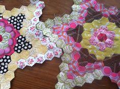 hexagon star quilt