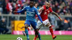 Bundesliga: Die schönsten Fotos vom Bundesligaspiel zwischen dem FC Bayern und dem Hamburger SV.