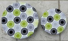 Modern Dots Eco Friendly ReUsable Bowl Covers by BGreenReUse
