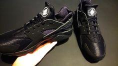 #Nike #Huarache #Triple #Black #BlackOnBlackOnBlack