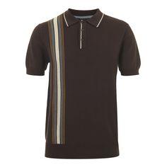 Corbin Knit Polo - Knitwear - Menswear | Merc Clothing