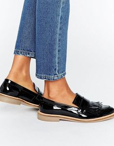 14623cc97db Buy Black Asos Loafers for woman at best price. Compare Shoes prices from  online stores like Asos - Wossel Global