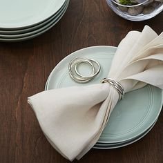 3-Ring Napkin Ring | Crate and Barrel