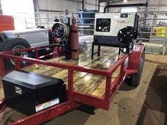 Welding Ideas, Welding Tools, Welding Projects, Welding Trailer, Fabrication Tools, Welding Shop, Trailers, Workshop, Garage