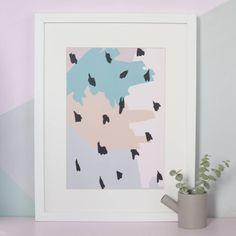 Dalmatian Spot Print