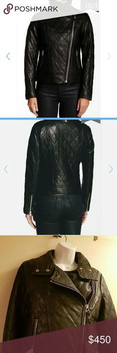 Selling this Mackage Frederica leather motor jacket on Poshmark! My username is: yoused. #shopmycloset #poshmark #fashion #shopping #style #forsale #Mackage  #Jackets & Blazers