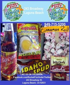 It's the Rocket Fizz Under The Sea BREAKFAST OF CHAMPIONS!  They say breakfast is the most important meal of the day!   LIKE US ON FACEBOOK: Facebook.com/RocketFizzUnderTheSea Visit us: 243 Broadway Street Laguna Beach, CA 92651 949-715-5200