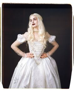 Anne Hathaway as The White Witch in Alice in Wonderland
