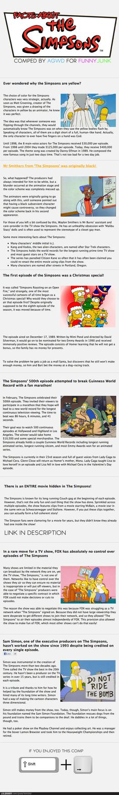 Simpsons Facts | LOLBRARY.COM on imgfave