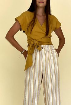 AIDA TOP Mini Skirts, Textiles, Street Style, Pattern, Cotton, Shirts, Tops, Fashion, Moda