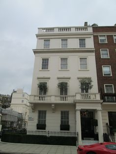 "The site where Pete Townshend of The Who wrote ""My Generation"", in the flat above"