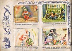 CROMOS SUELTOS BLANCANIEVES. BLANCA NIEVES Y LOS SIETE ENANOS. PRIMER ALBUM DE LA EDITORIAL FHER. (Papel - Cromos y Álbumes - Cromos Antiguos)