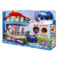 Paw Patrol Look-Out Playset | See why this Nickelodeon play set keeps young toddlers amused for hours. Ideal for boys, but with its cute little paw dog, little girls might want to play too!