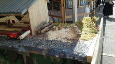 Maquette montrant les métiers du bois → Forêt dans La Ville → Sainte-Marie-Aux-Mînes