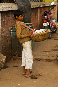 Traveling salesman or unda (egg) walla