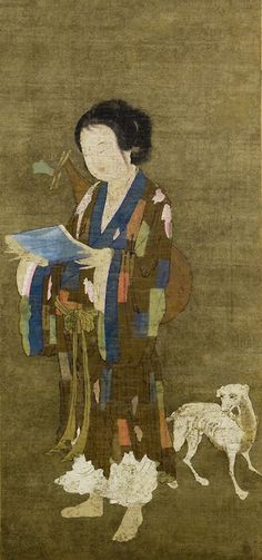 Beggar-Singer with Hound Yuan dynasty (1271–1368) China Hanging scroll;