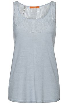 Top%20in%20linen%20blend%20with%20viscose%3A%20%27Tee%206%27%2C%20Light%20Blue