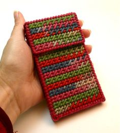 Canvas cell phone or iPod case - looks fun to make :)