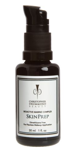 Christopher Drummond Skin Prep Primer: Incredible makeup primer which helps to resurface, firm and protect the complexion. Made with all natural ingredients, nourishes and rebuilds the skin, all while helping makeup go on smoother! It's a win-win-win!