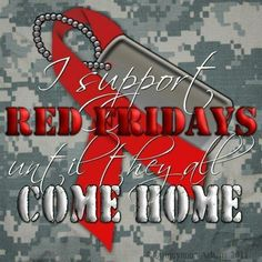 Remember Everyone Deployed, Friday and EVERYDAY !!!