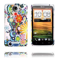 Valentine (Regnbågescirklar) HTC One X-Skal