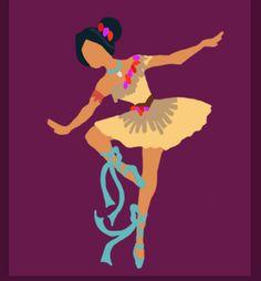 Disney Ballerina Pocahontas