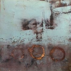 Grace Carol Bomer Ancient Mercy small cold wax and oil on panel