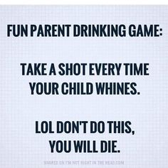 """20 Likes, 3 Comments - ⭐M Dot⭐ (@mrs_nyc_m_dot) on Instagram: """"#parenting #drinkinggames #ruemabelle"""""""