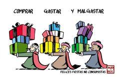 Felices fiestas! #Viñeta #Humor