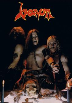Giving the black magic of heavy metal its full character.