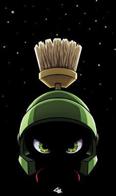 Marvin the Martian Emperor by ~G-Chris on deviantART