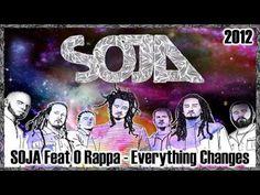 Novo som do SOJA, com participação de O Rappa