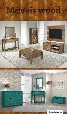 Móveis wood: garanta estilo na sua casa com cômodas, cristaleiras e muito mais. http://www.colombo.com.br/pesquisa?termo=serpil+wood&utm_source=Pinterest&utm_medium=Post&utm_content=serpil-wood&utm_campaign=Produto-31mar14