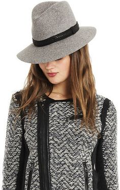 Rag Bone Floppy Brim Fedora Grey Rag and Bone 3d3531a0255