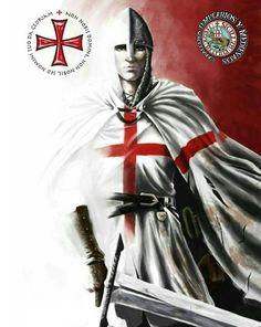 Crusader Knight, Knight Armor, Knights Templar History, Viking Queen, Silver Knight, Christian Warrior, Queen Of Heaven, Warrior Queen, Medieval Knight