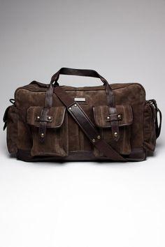 John Varvatos Large Duffle Bag