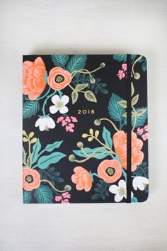 2016 Floral Planner from Maude