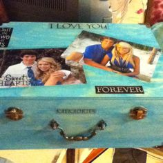 Great gift ideas for gfs or bfs:) its a memory box:))) so sweet! This is mine !
