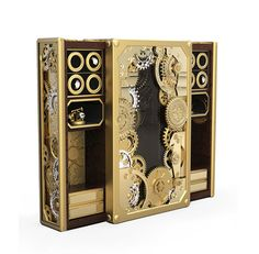 The Baron Safe is an exceptional piece of haute craftsmanship, perfect for those with an appetite for extreme luxury. For more information: http://www.bocadolobo.com/en/private-collection/luxury-safes/baron/