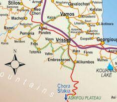 Map of Crete, showing Armeni - Google Search Crete, Map, Google Search, Location Map, Peta, Maps