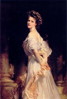 Lady Astor - Nancy Witcher Langhorne Astor, Viscountess (1879-1964) by John Singer Sargent    The first woman to ever hold a seat in the House of Commons. One of her political legacies is of a champion of women's and children's rights. She was known as a fierce debater. There is a famous exchange between Winston Churchill and Lady Astor when they were both staying at Blenheim Castle visiting the Marlboroughs. The two politicians had been at each other's throat all weekend when Lady Astor…