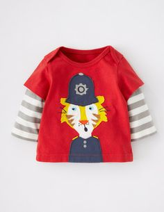 I've spotted this @BodenClothing Animal Adventure T-shirt Tomato Police Cat