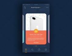 """Check out new work on my @Behance portfolio: """"Coupon Promo App Screen"""" http://be.net/gallery/43781071/Coupon-Promo-App-Screen"""