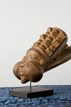 Artist: Unknown Bamum artist Name: pipe Origin: Bamum people of Cameroon Made of: wood, natural bamboo-like reed, beeswax Dimensions: H: W: From: Gift of Dr. Lutheran, African Art, Smoking, Lion Sculpture, Statue, Artist, Collection, Artists, Tobacco Smoking