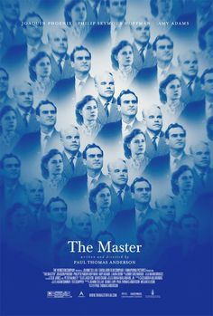 'The Master' poster reveal!  Joaquin Phoenix, Amy Adams, and Phillip Seymour Hoffman star in the new #film from writer/director Paul Thomas Anderson.