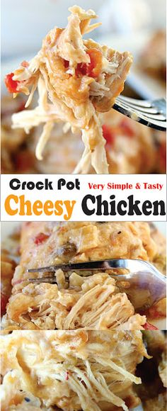 Crock Pot Cheesy Chicken | Safapict