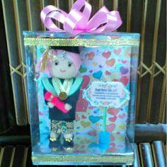 Boneka wisuda 15 cm