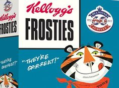 Kellogg's Retro Packaging