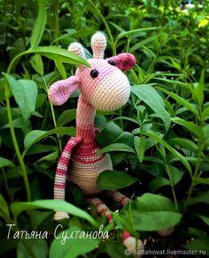 Купить Игрушка жираф - жираф, розовый, подарок для девочки, подарок для мальчика, жирафик, жирафа