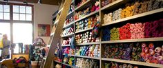 Yarn store, Park City, Utah - Wasatch and Wool